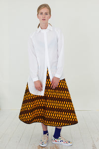 QUILT WRAPSKIRT - reversible