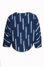 Load image into Gallery viewer, BUKI AKOMOLAFE x LIVING BLUE_ QUILT JUMPER