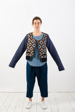 Load image into Gallery viewer, QUILT-WAFFLE JACKET - reversible