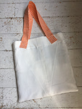 Load image into Gallery viewer, WAFFLE TOTE BAG           Milla white/grey