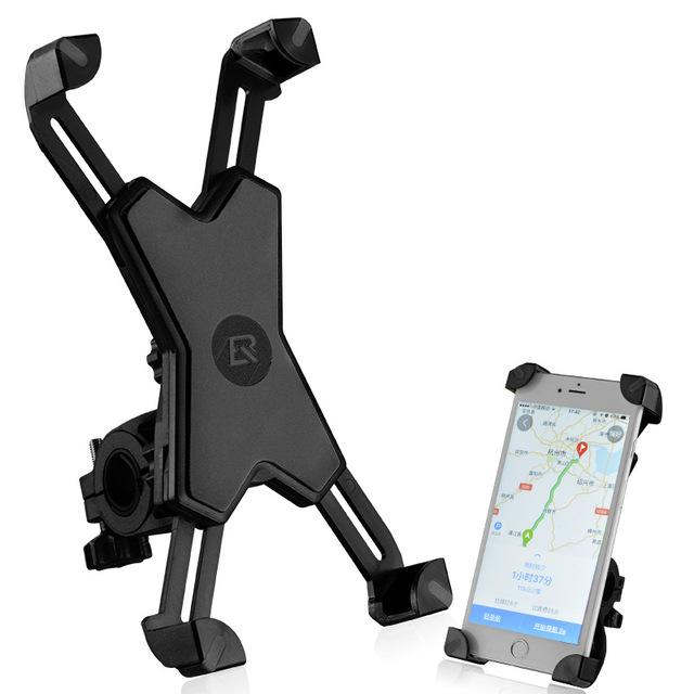 "Pro Cellphone Mount For Mountain & Road Bikes, Universal FITS ALL 3.5"" to 7"" phones, iPhone X, 8, 7, 6, Samsung Galaxy 9, 8, 7, 6, + You Get FREE Shipping Today!"