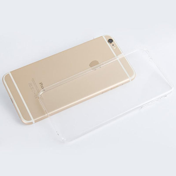 TRANSPARENT SILICONE PHONE CASE