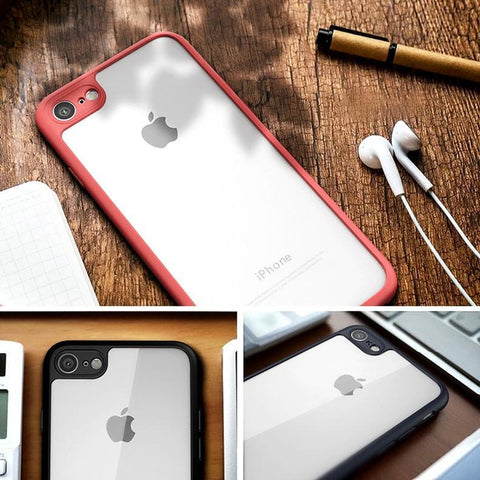 TRANSPARENT SOFT FRAME CASE