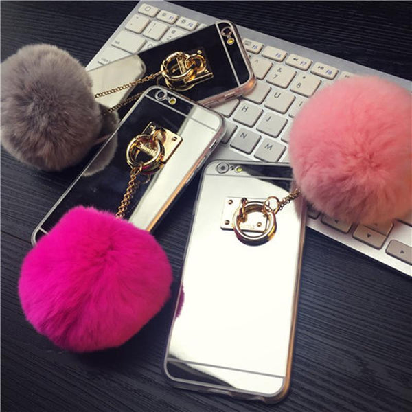 LUXURY FUR BALL CASE