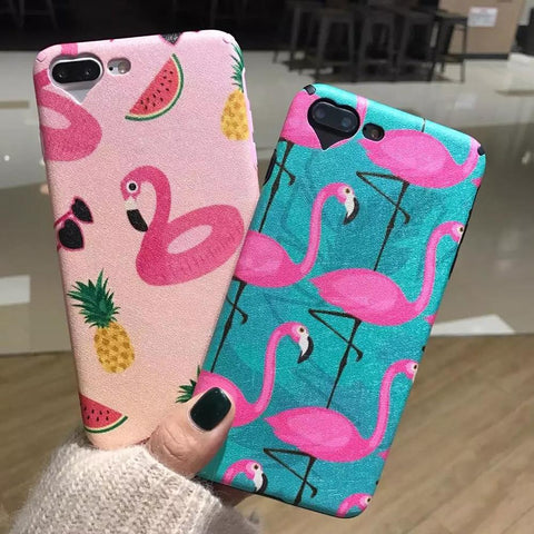 CHARMING FLAMINGO IPHONE CASE