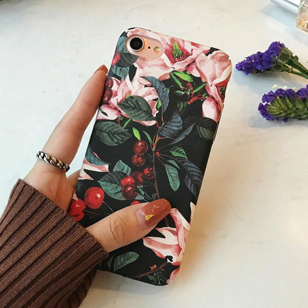 CLASSIC CHERRY IPHONE CASE