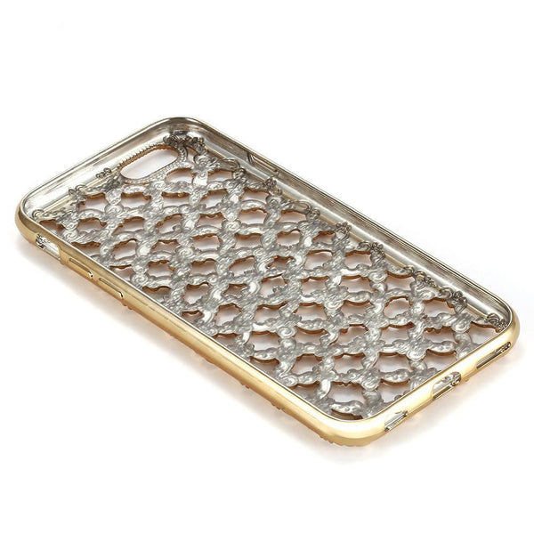 LUXURY GRID RHINESTONE CASE