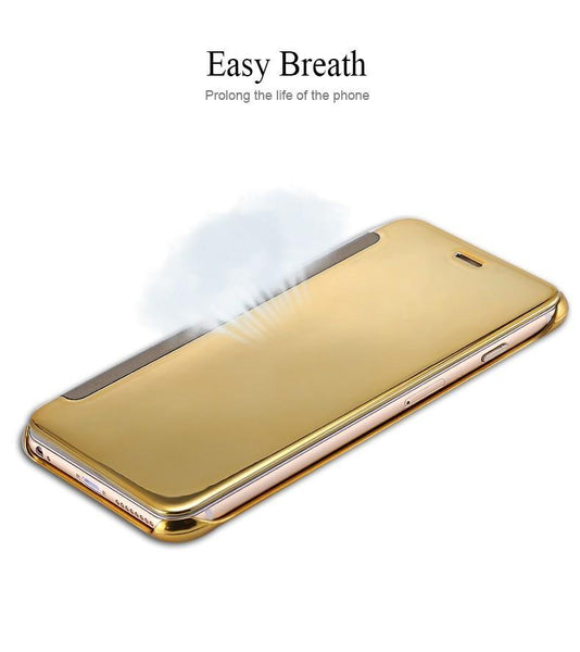 MIRROR FLIP PHONE CASE