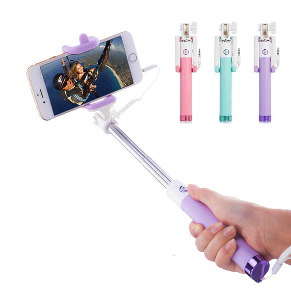 PASTEL WIRED SELFIE STICK