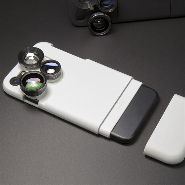 4 IN 1 LENS IPHONE CASE