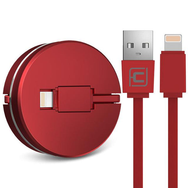 RETRACTABLE IPHONE CABLE