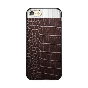 LUXURY METAL LEATHER CASE