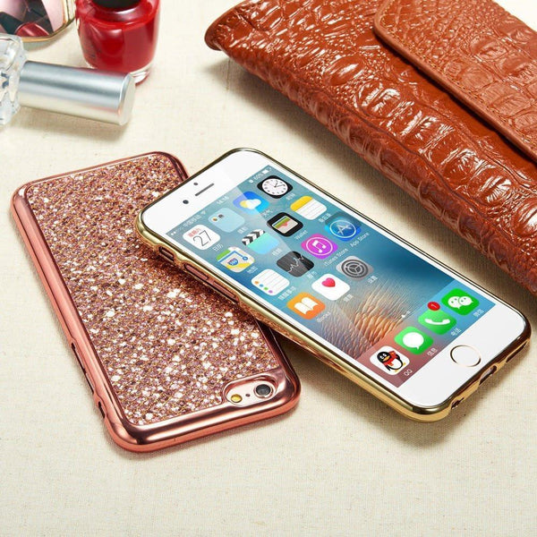 GLITTER BACK SAMSUNG CASE