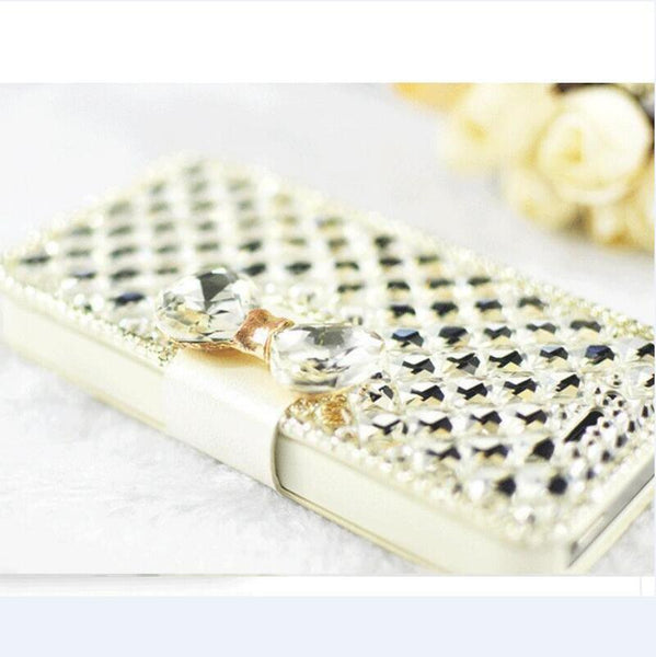 RHINESTONE DIAMOND FLIP CASE