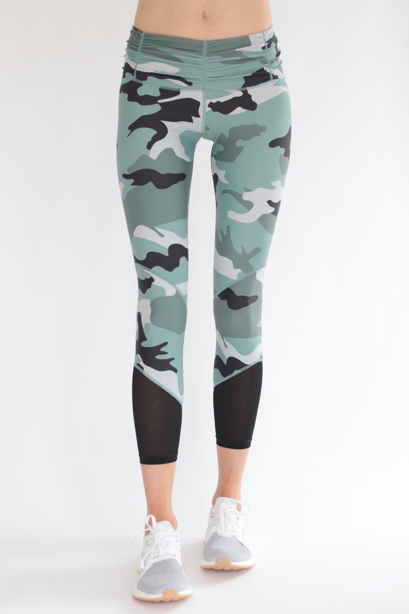 "The ""Leston"" Camo Leggings"