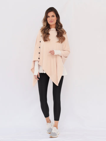 "The ""Emily"" Cardigan Jacket in Dusty Rose"
