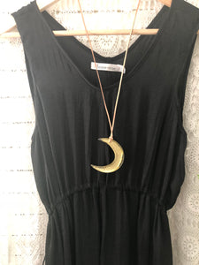 Globetrotter Dress- Black