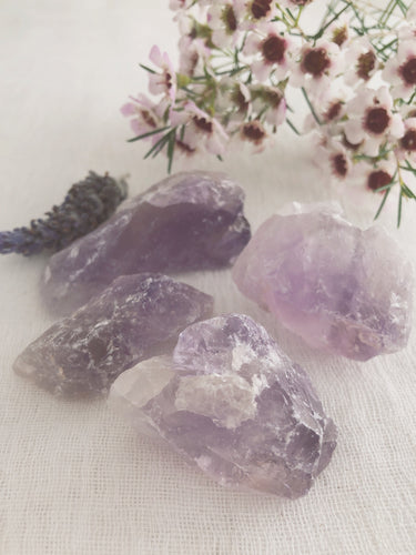 Amethyst- raw chunks