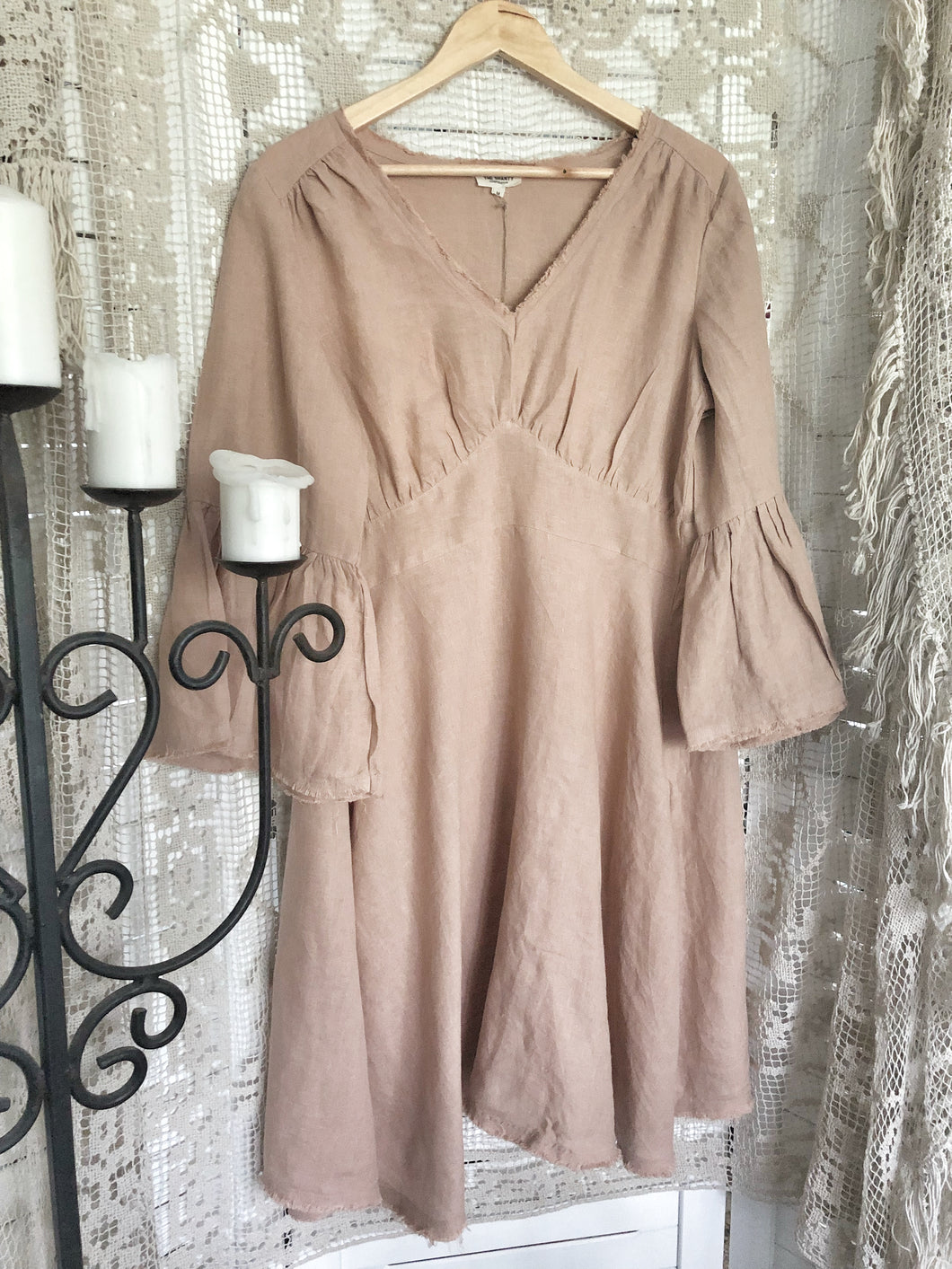 Loomi Dress The Shanty Corporation- Desert Brown