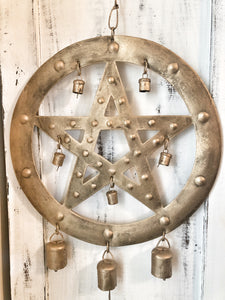 Pentacle Bell Hanging