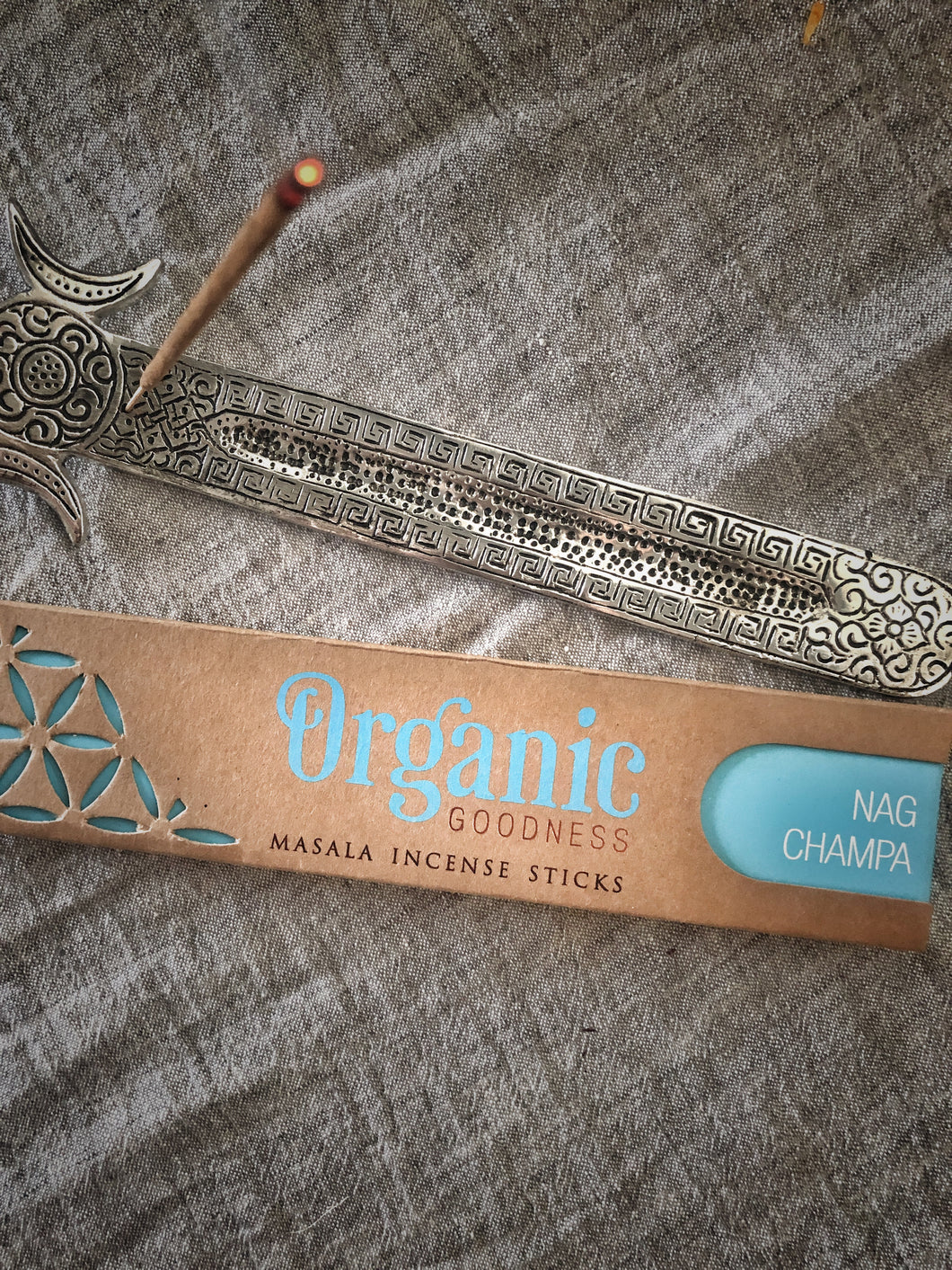 Organic Goodness- Nag Champa Incense Sticks