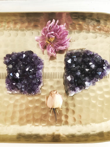 Amethyst Clusters large