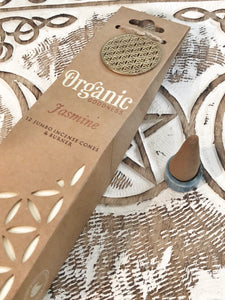 Organic Goodness Incense Cones- Jasmine