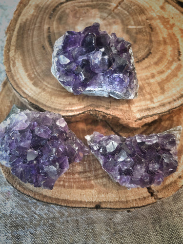 Amethyst Clusters small