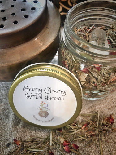 Energy Clearing Herbal Incense