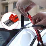 Car Seal Weather Stripping Rubber Sealing Strip Trim Cover for Car Front Rear Windshield