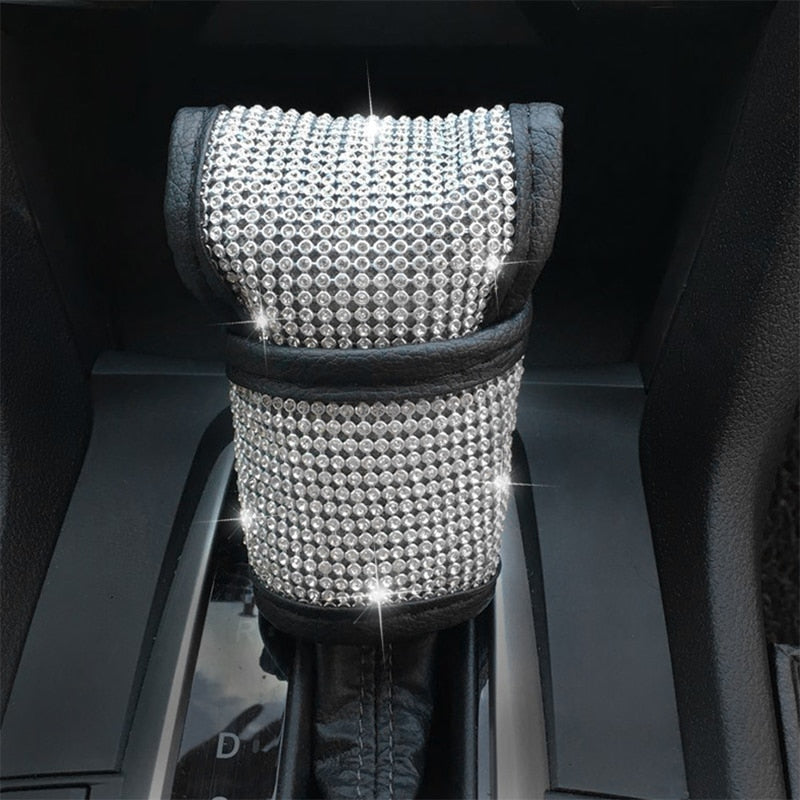 Bling Car Accessories (Steering Wheel, Gear Shift, Seat Belt Cover)
