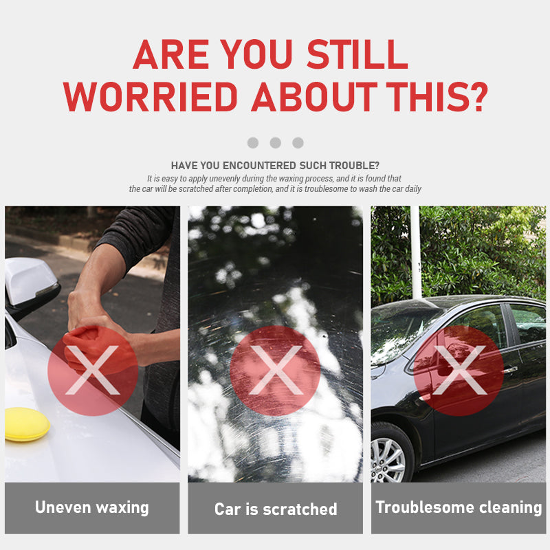 Car Polishing Waxing Sponge Applicator Microfiber Sponge Cleaning Tool