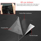 6D Car Carbon Fiber Sticker2