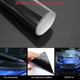 6D Car Carbon Fiber Sticker,  Full Car Body Protector Film with Anti-Wrinkle