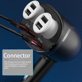 Car charger, Socket Splitter Plug Dual USB QC3.0 Fash Charge 12V | SEAMETAL