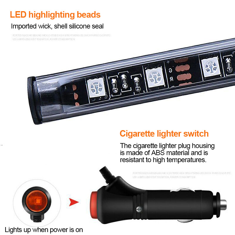 LED Car Floor Ambient Light with Remote Control