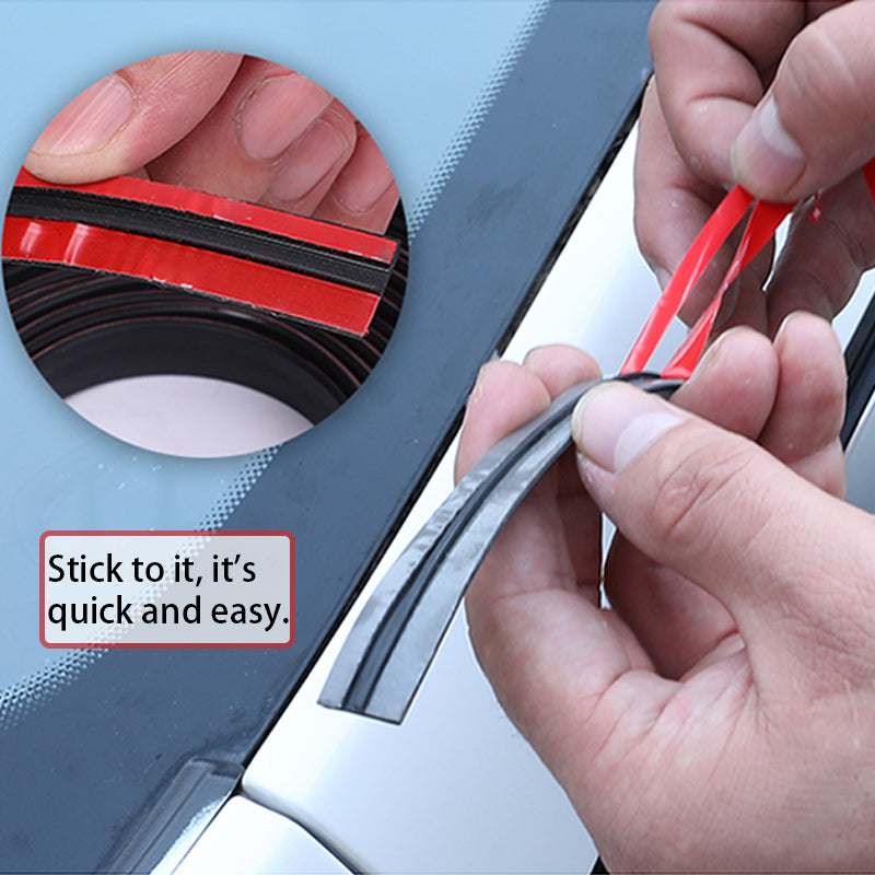 Seametal Car Seal Weather Stripping Rubber Sealing Strip Trim Cover For Auto Front Rear Windshield4