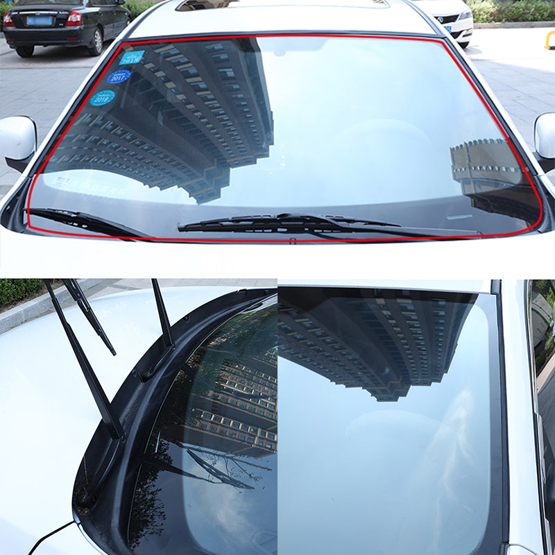 Seametal Car Seal Weather Stripping Rubber Sealing Strip Trim Cover For Auto Front Rear Windshield5