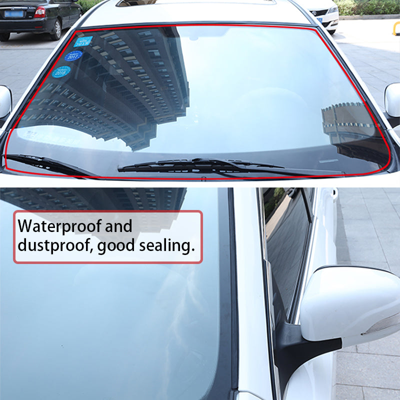Seametal Car Seal Weather Stripping Rubber Sealing Strip Trim Cover For Auto Front Rear Windshield6