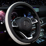 "Bling Crystal Car Steering Wheel Covers 15""/38cm"