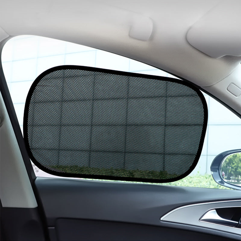 Car Window Shades PVC Electrostatic Film Mesh Privacy Protection