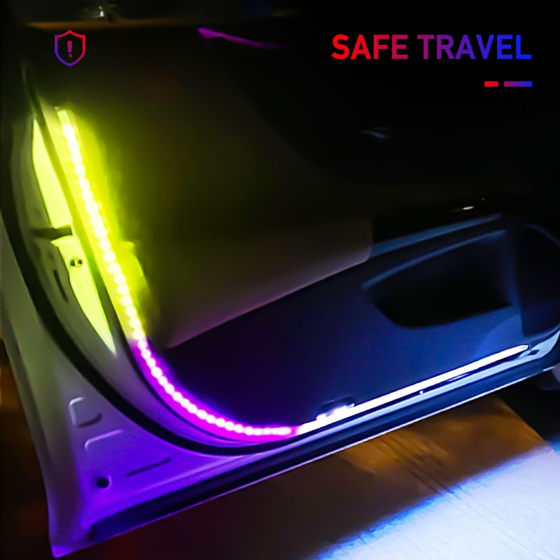 Car Door Lights Opening Warning  LED Light Universal auto accessories