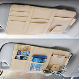 Car Sun Visor Organizer, Auto Interior Accessories Pocket Organizer |SEAMETAL
