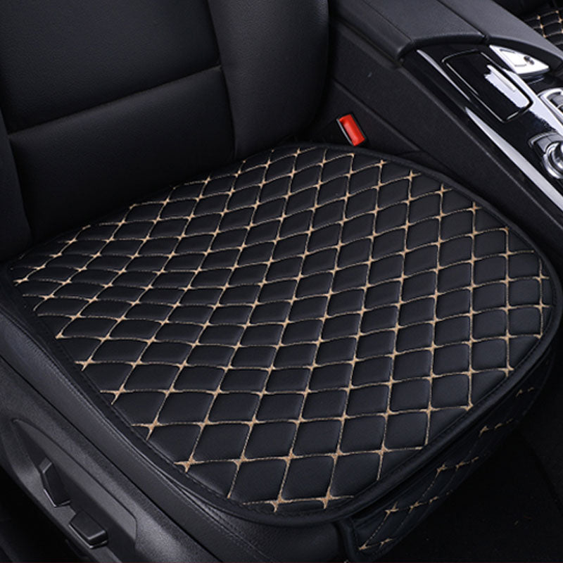 Leather Car Seat Cushion Stitch Seat Cover Protector Pads