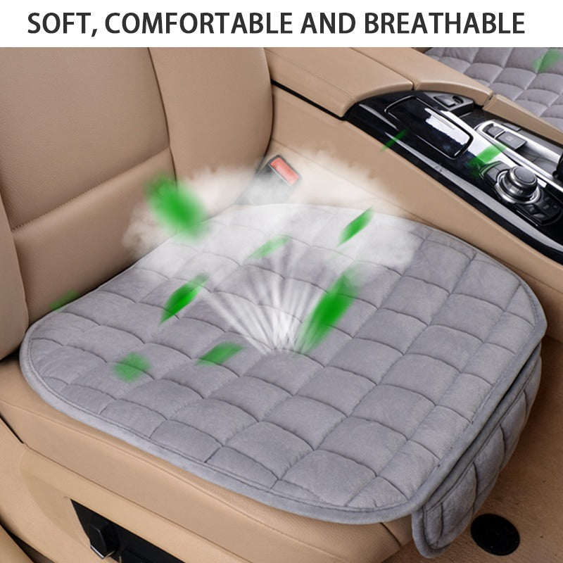 Plush Seat Covers Winter Car Seat Protector Universal four Seasons