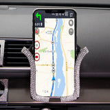 Air Vent Mount Car Phone Holder 2