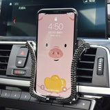 Air Vent Mount Car Phone Holder 6