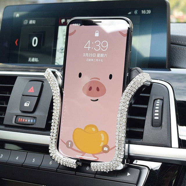 Air Vent Mount Car Phone Holder 3