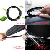 Windshield Rubber Sealing Strips Dashboard Gap Filler Noise Resistant