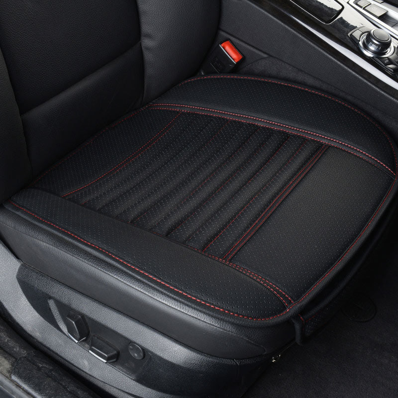 Leather Car Seat Cushions Covers Stitch Protector Pads Universal
